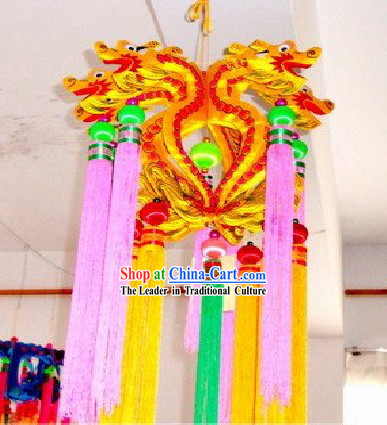 Chinese Handmade Dragon Parade Lanterns