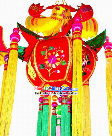 Chinese Handmade and Embroidered Decoration Lantern