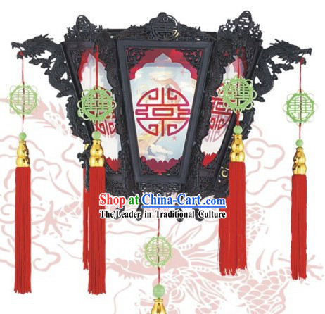 Chinese Dragon Antique Style Wall Lantern