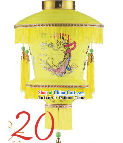 16 Inch Yellow Chang Er Lantern