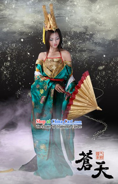 Chinese Ancient Dragon Lady Cosplay Costume