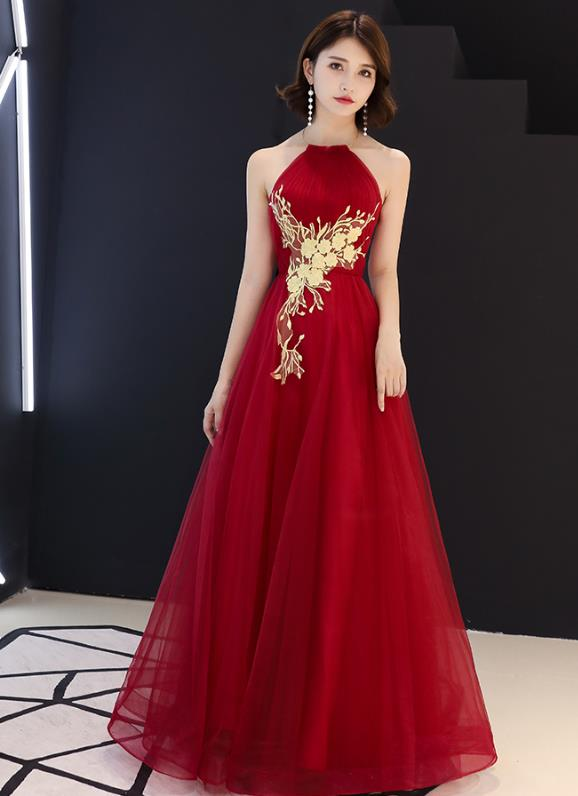 Chinese Lucky Red Silk Wedding Outfit
