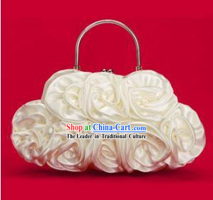 Traditional Silk Bridesmaid Handbag