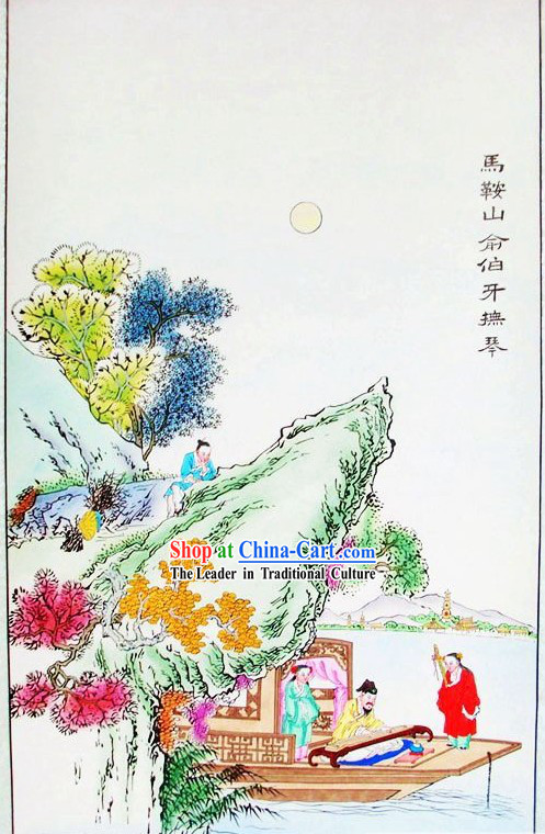 Tianjin Yang Liu Qing Chinese Painting - Chinese Ancesor Paintings