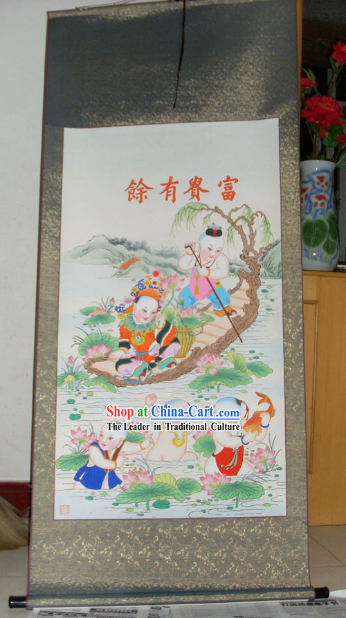 Tianjin Yangliuqing Chinese Ancient Painting / Chinese Painting Supplies