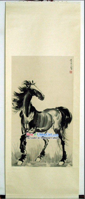 Traditional Chinese Horse Painting