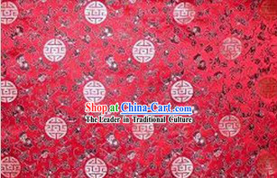 New Year Celebration Silk Fabric