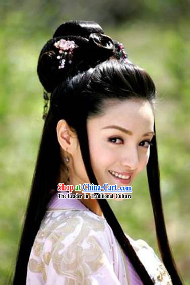 Chinese Classical Ancient Style Long Wig for Women