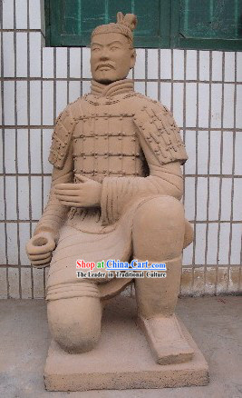 China Terra Cotta Warrior _antique reproduction_