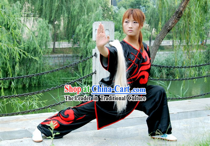 Chinese Kung Fu Competition Clothes Complete Set