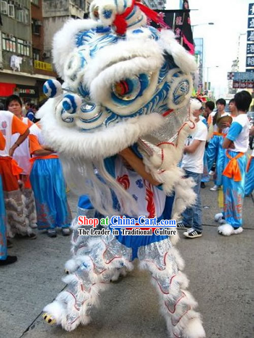 Supreme HOK SAN Lion Dance Costume Complete Set