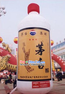 Large Chinese National Maotai Wine Inflatable