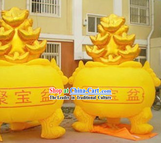 158 Inch Height Inflatable Cornucopia