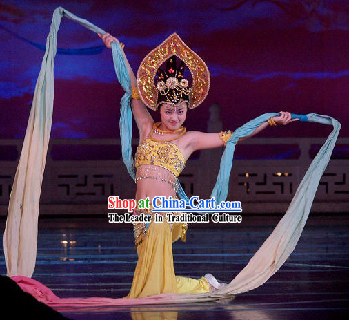 Chinese Ribbon Dance Costume