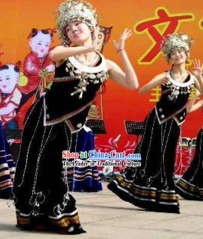 Miao Dance Costumes Complete Set