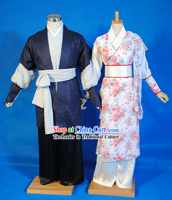 The Legend of The Condor Heroes She Diao Ying Xiong Zhuan Costume 2 Sets