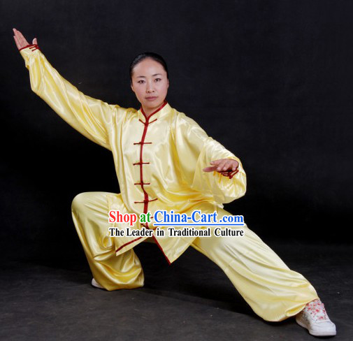 Chinese Tai Chi Clothing Blouse and Pants