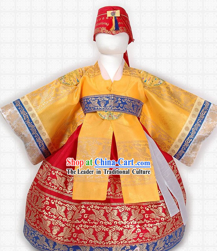 Ancient Korean Palace Costume for Children
