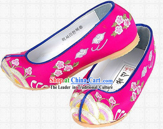 Traditional Korean Hanbok Shoes