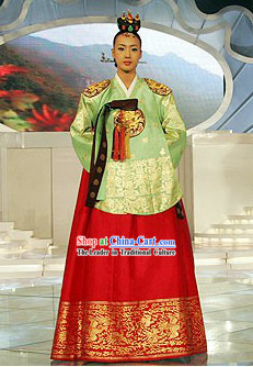 Ancient Korean Palace Hanbok Complete Set