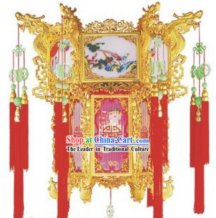 Large Chinese Palace Dragon Lantern