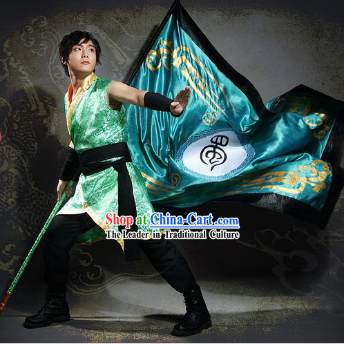 Ancient Solider Cosplay Costume and Accessories Set