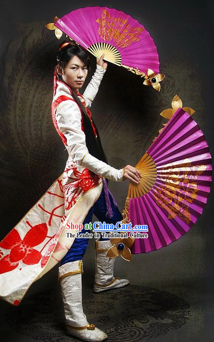 Ancient Chinese Cosplay Costume and Accessories Set