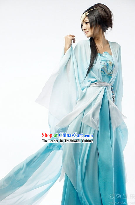 Asian princess blue new