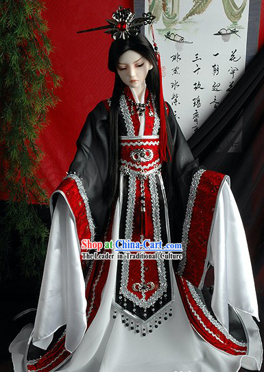 Ancient Chinese Government Official Cosplay Costume Complete Set