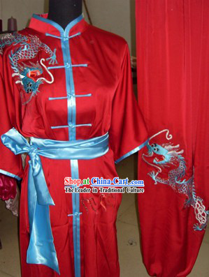 Dragon Martial Arts Uniform / Wushu Competition Suit for Men