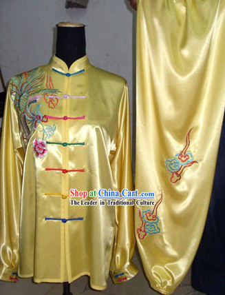 Chinese Classical Martial Arts Silk Uniform