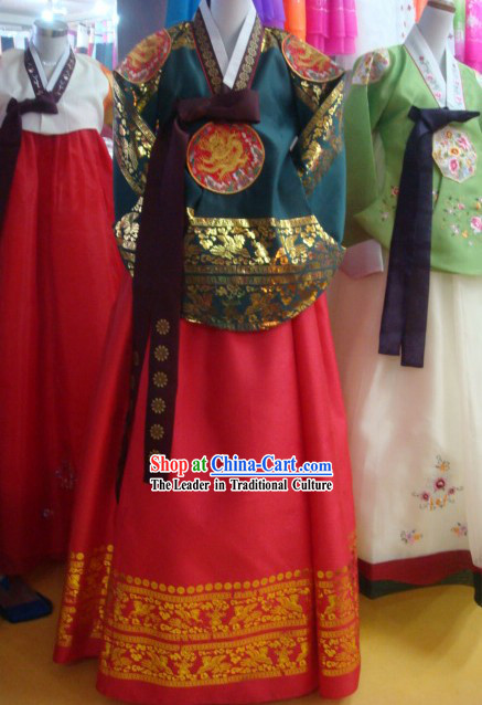 Korean Hanbok Palace Clothing Complete Set for Women