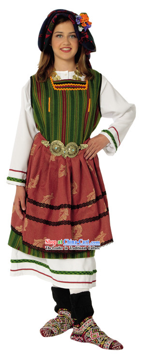 Metaxades Female Traditional Dance Costume