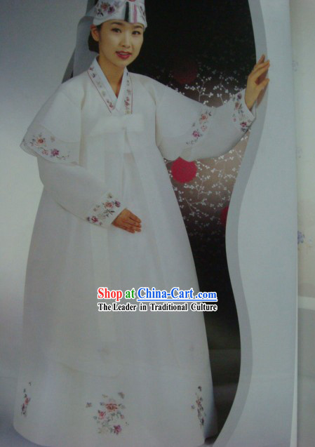Korean Hanbok Four Pieces Set