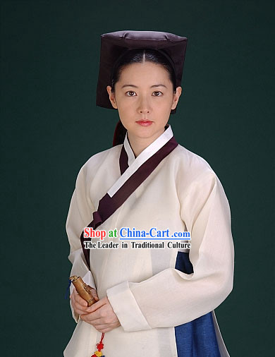 Ancient Korean Hanbok Costume Complete Set for Women