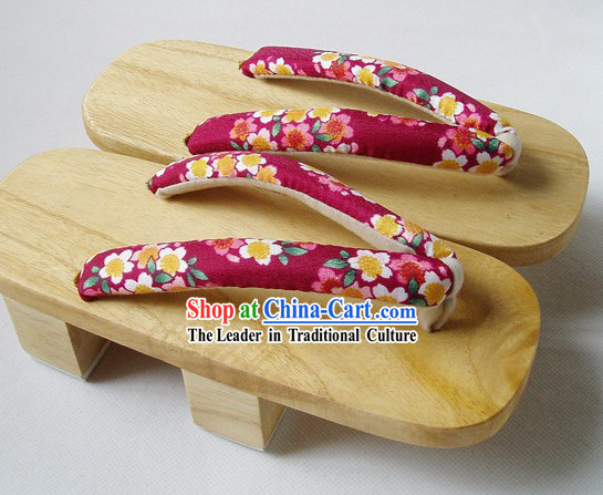 Japanese Geta Sandals Set
