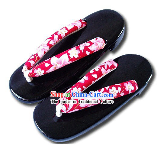 Traditional Japanese Female Yukata Shoes