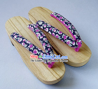 Traditional Japanese Yukata Female Shoes