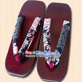 Female Geta for Traditional Japanese Kimono