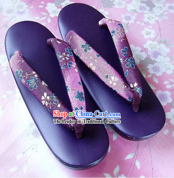 Japanese Kimono Shoes Set for Women