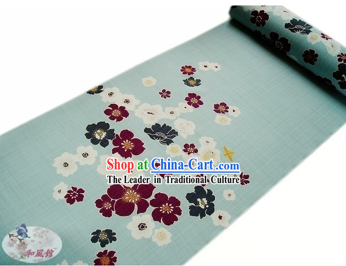 Traditional Japanese Kimono Dress Fabric