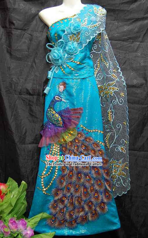 Water-splashing Festival Thailand Dress for Women