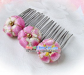 Traditional Japanese Kimono Hair Decoration
