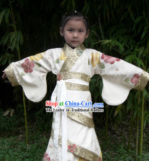 Ancient Chinese Children Birthday Dress for Girls