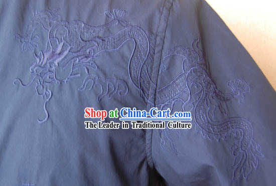 Hand Made Mandarin Shirt for Man