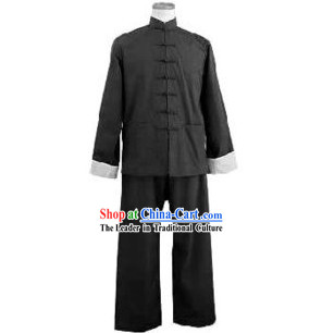 Bruce Lee Style Yong Chun Martial Arts Uniform Complete Set
