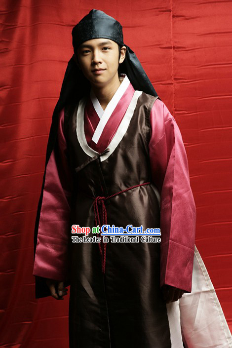 Ancient Korean Young Men Dress Set
