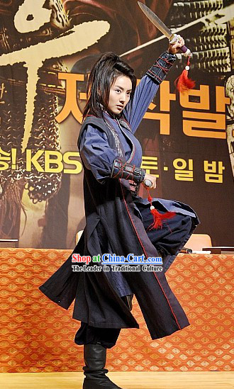 Ancient Korean Kung Fu Costumes Set