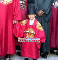 Ancient Korean Emperor Costumes for Children
