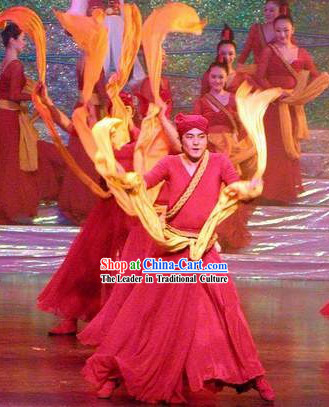 Chinese Yangge Dance Costume for Men